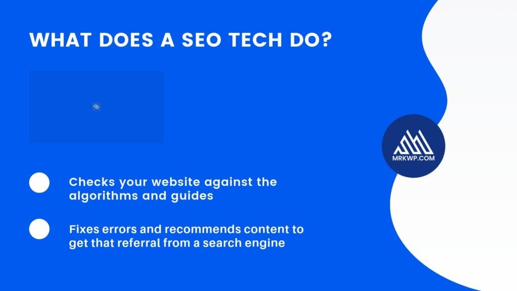 What does an SEO do?