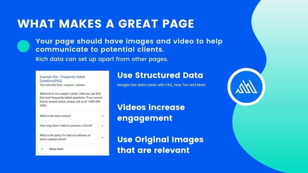 Images and Video for SEO