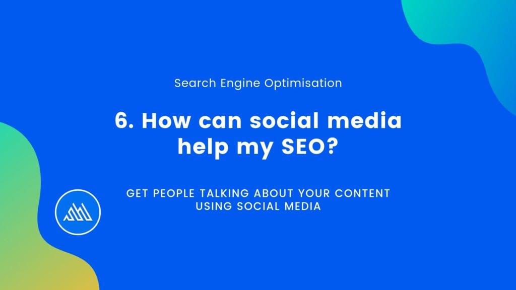 How can social Media Help