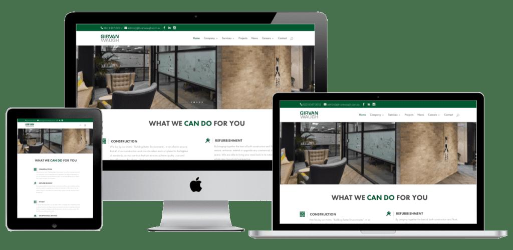 Girvan waugh website