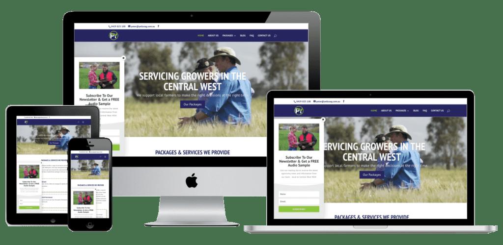 Py Agronomy Website Design